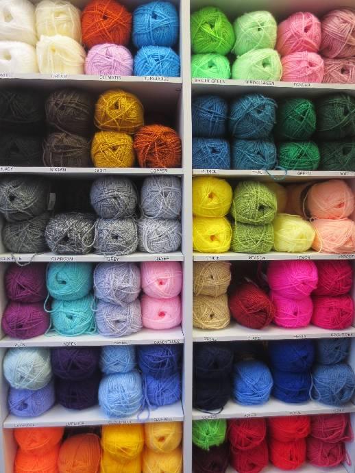 Haberdashery Knitting Wool